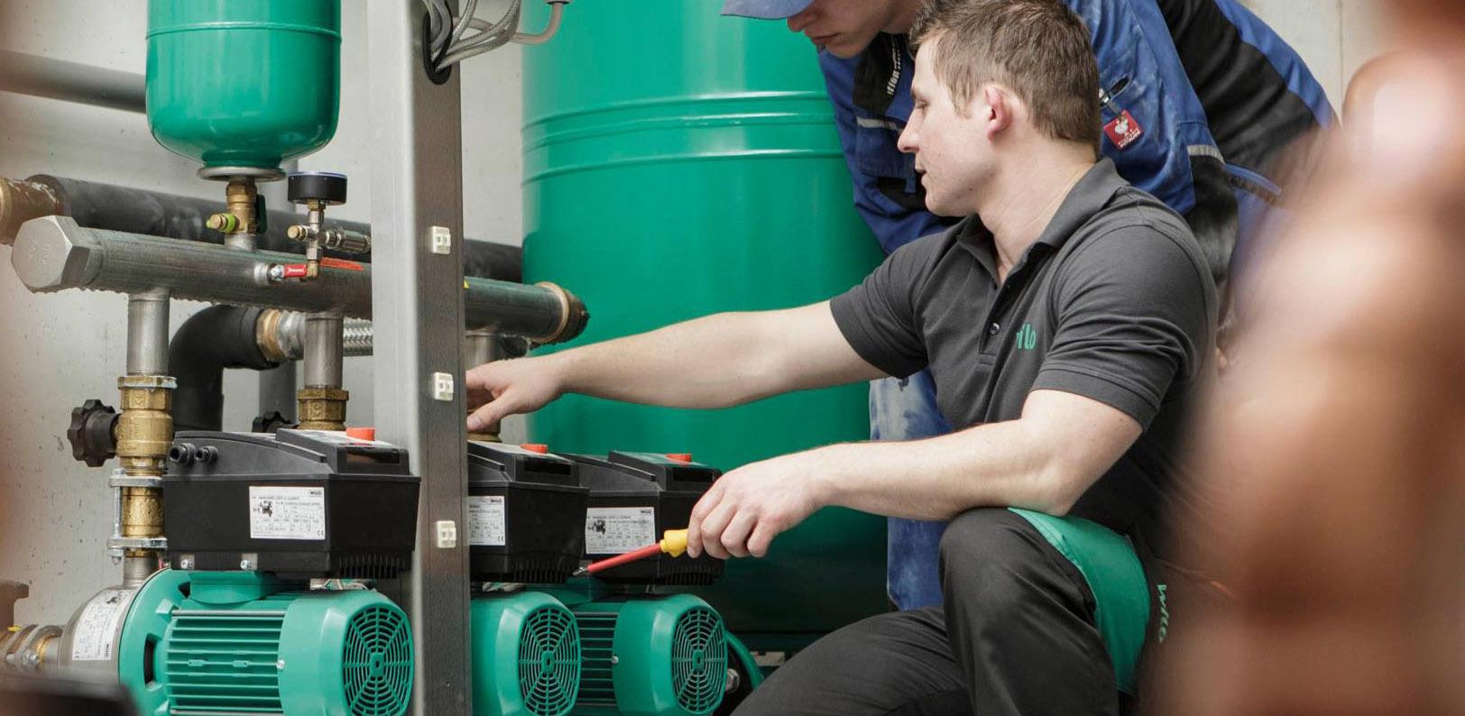 Pompe submersibile si centrifugale