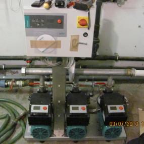 Pompa de apa electrica cu convertizor de frecventa